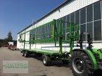 Ballensammelwagen des Typs PRONAR T 028KM, Lagermaschine ekkor: Schlettau