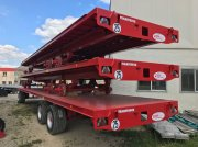 TECHMAGRI PLATEAU 26T TransTruck Bale collecting wagon