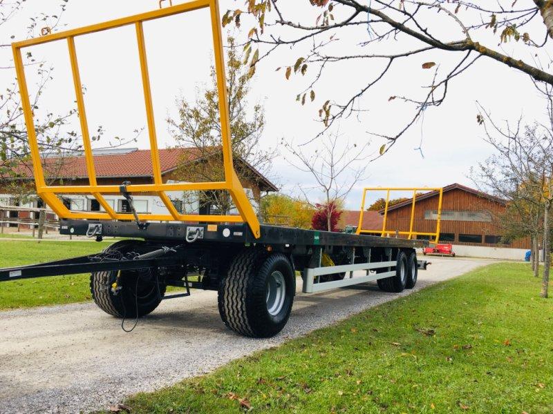 Ballensammelwagen des Typs WIELTON PRS 3S/S14, Gebrauchtmaschine in Herrsching (Bild 1)