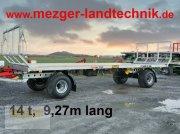 Ballentransportwagen a típus CYNKOMET 14t;  9,27 m lang; Ballenwagen;, Neumaschine ekkor: Ditzingen
