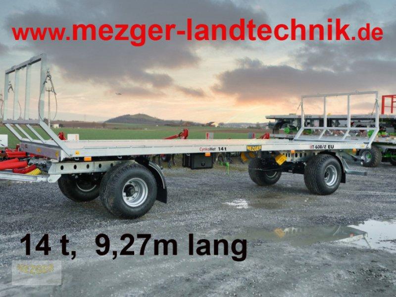 Ballentransportwagen des Typs CYNKOMET 14t;  9,27 m lang; Ballenwagen;, Neumaschine in Ditzingen (Bild 1)