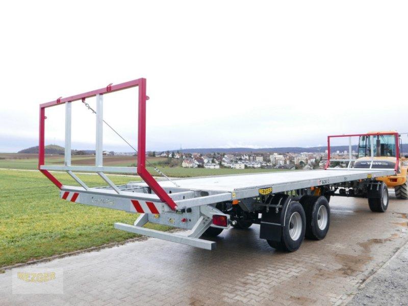 Ballentransportwagen des Typs CYNKOMET 19 t, (T608-3) Ballenwagen, Neumaschine in Ditzingen (Bild 1)