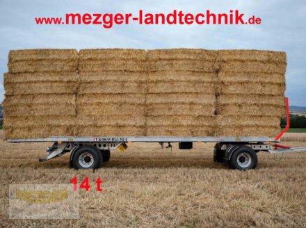 Ballentransportwagen des Typs CYNKOMET Ballenwagen 14 t (T608/2 EU) 9,27 m, Neumaschine in Ditzingen (Bild 1)