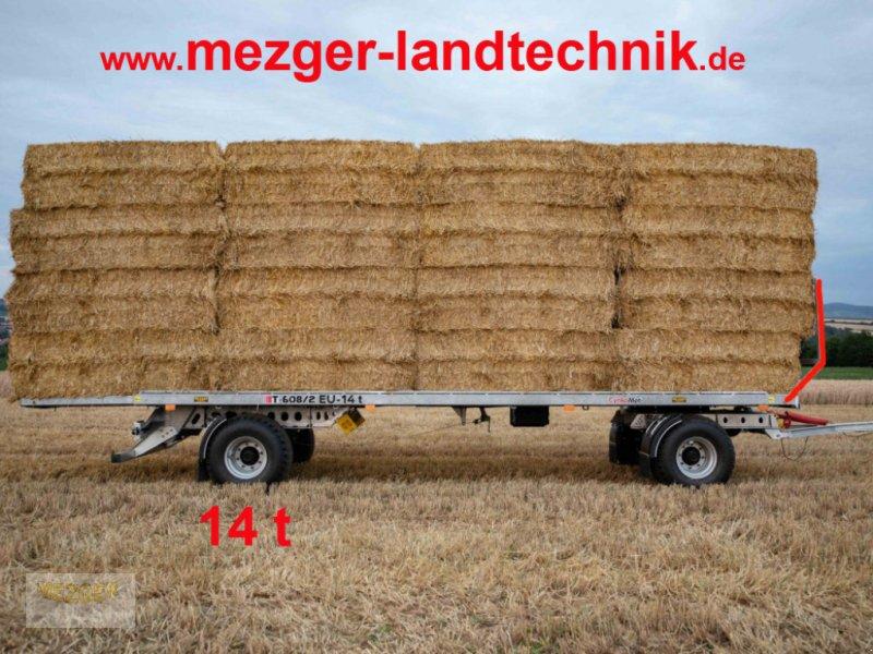 Ballentransportwagen du type CYNKOMET Ballenwagen 14 t (T608/2 EU) 9,27 m, Neumaschine en Ditzingen (Photo 1)