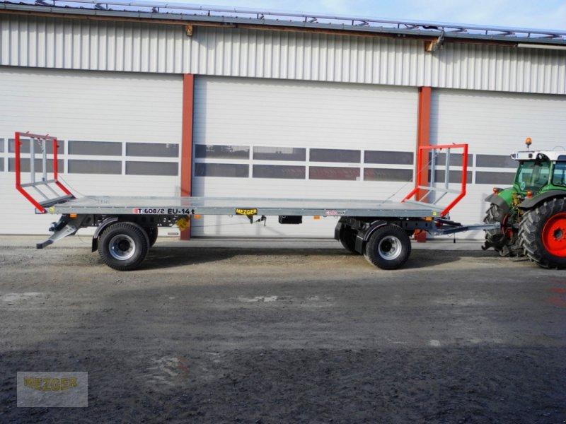 Ballentransportwagen des Typs CYNKOMET Ballenwagen 14 t (T608/2 EU) 9,27 m, Neumaschine in Ditzingen (Bild 8)