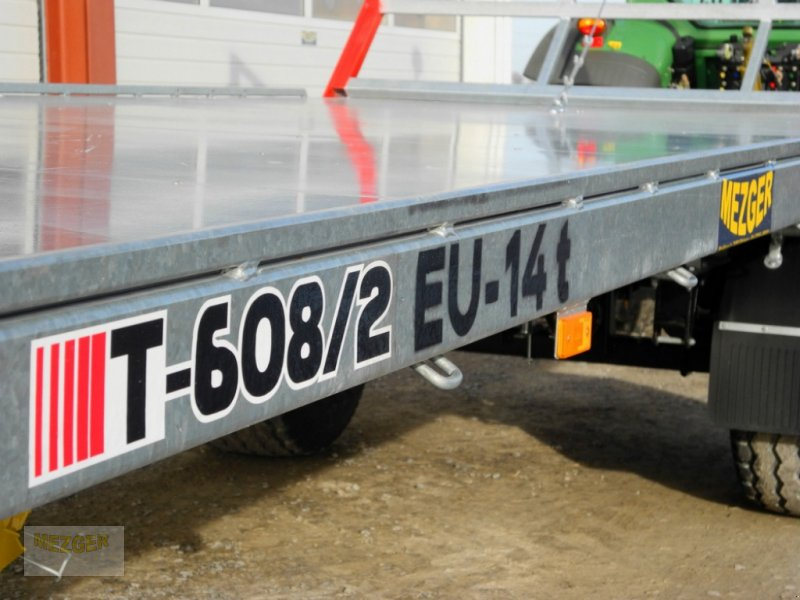 Ballentransportwagen des Typs CYNKOMET Ballenwagen 14 t (T608/2 EU) 9,27 m, Neumaschine in Ditzingen (Bild 11)
