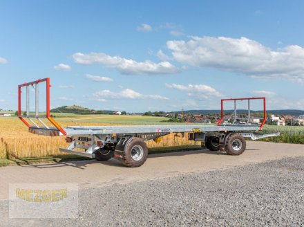 Ballentransportwagen des Typs CYNKOMET Ballenwagen T-608/2-L, 16 t, 9,95 m lang, Neumaschine in Ditzingen (Bild 2)