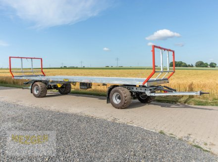 Ballentransportwagen des Typs CYNKOMET Ballenwagen T-608/2-L, 16 t, 9,95 m lang, Neumaschine in Ditzingen (Bild 4)