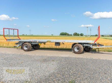 Ballentransportwagen des Typs CYNKOMET Ballenwagen T-608/2-L, 16 t, 9,95 m lang, Neumaschine in Ditzingen (Bild 5)