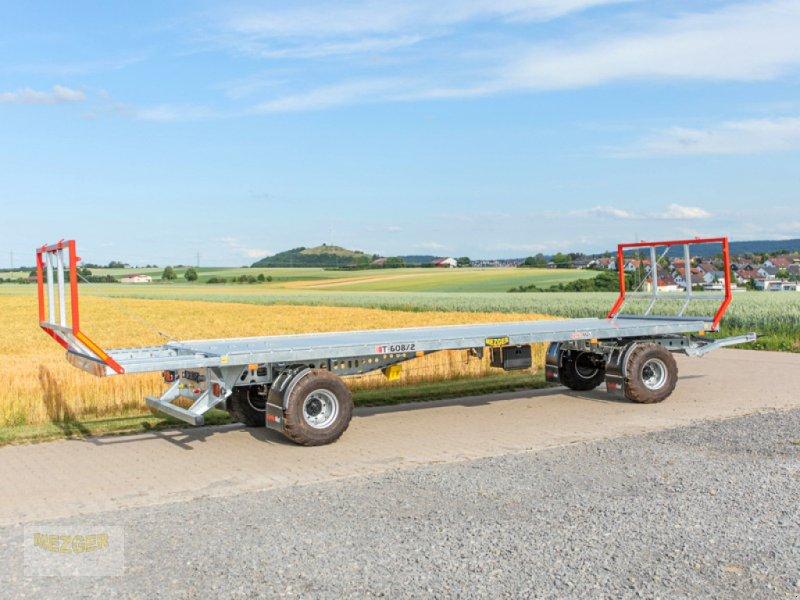 Ballentransportwagen des Typs CYNKOMET Ballenwagen T-608/2-L, 16 t, 9,95 m lang, Neumaschine in Ditzingen (Bild 6)