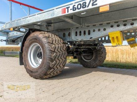 Ballentransportwagen des Typs CYNKOMET Ballenwagen T-608/2-L, 16 t, 9,95 m lang, Neumaschine in Ditzingen (Bild 7)