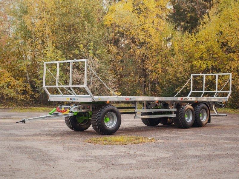 Ballentransportwagen типа CYNKOMET Ballenwagen T 608-3 14 T, Neumaschine в Siekierczyn (Фотография 4)