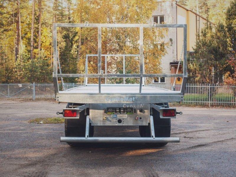 Ballentransportwagen типа CYNKOMET Ballenwagen T 608-3 14 T, Neumaschine в Siekierczyn (Фотография 2)