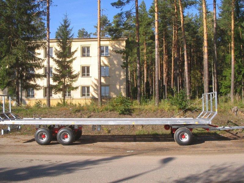 Ballentransportwagen типа CYNKOMET Ballenwagen T 608-3 14 T, Neumaschine в Siekierczyn (Фотография 3)