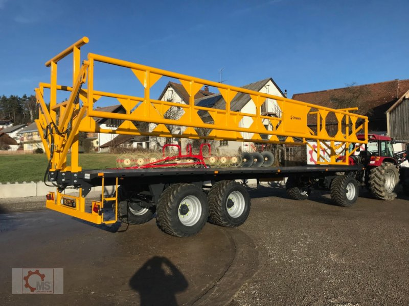 Ballentransportwagen des Typs Dinapolis 24t 10m Hydraulische Ladungssicherung, Neumaschine in Tiefenbach (Bild 3)