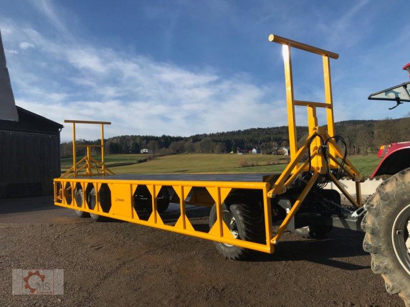 Ballentransportwagen des Typs Dinapolis 24t 10m Hydraulische Ladungssicherung, Neumaschine in Tiefenbach (Bild 5)