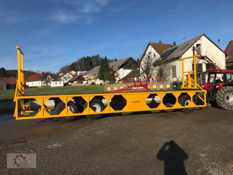Ballentransportwagen des Typs Dinapolis 24t 10m Hydraulische Ladungssicherung, Neumaschine in Tiefenbach (Bild 10)