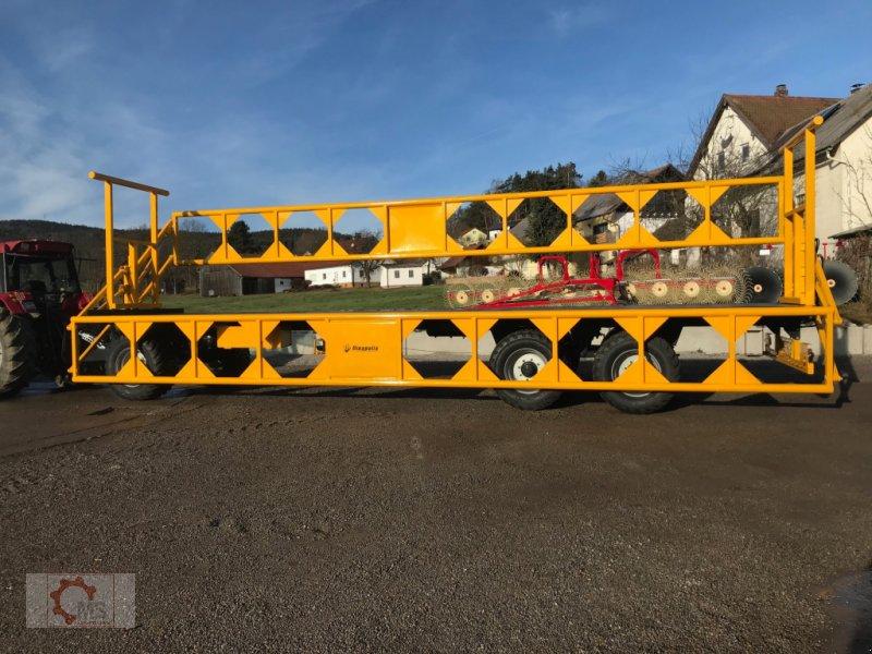 Ballentransportwagen des Typs Dinapolis 24t 10m Hydraulische Ladungssicherung, Neumaschine in Tiefenbach (Bild 13)