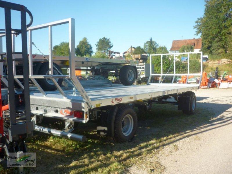 Ballentransportwagen des Typs Fliegl ZPW 120 B, Neumaschine in Pegnitz-Bronn (Bild 2)