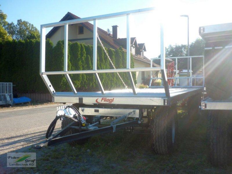 Ballentransportwagen des Typs Fliegl ZPW 120 B, Neumaschine in Pegnitz-Bronn (Bild 4)