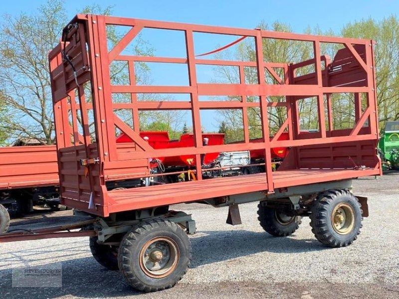 Ballentransportwagen типа Fortschritt HW 80 Ballentransportwagen mit hydrl. Ladungssicherung, Gebrauchtmaschine в Sieversdorf (Фотография 1)