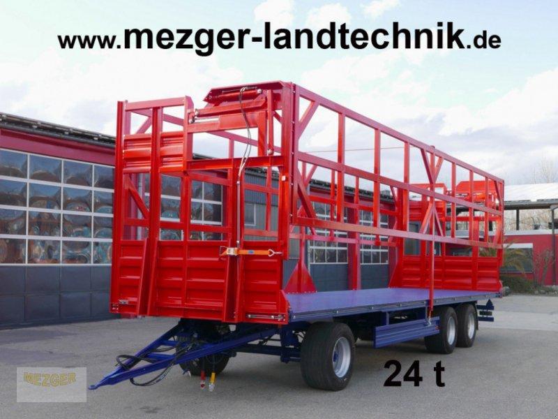 Ballentransportwagen типа Meztec BW 24-H Ballenwagen mit Hydr. Ladungssicherung (kein Ursus), Neumaschine в Ditzingen (Фотография 1)