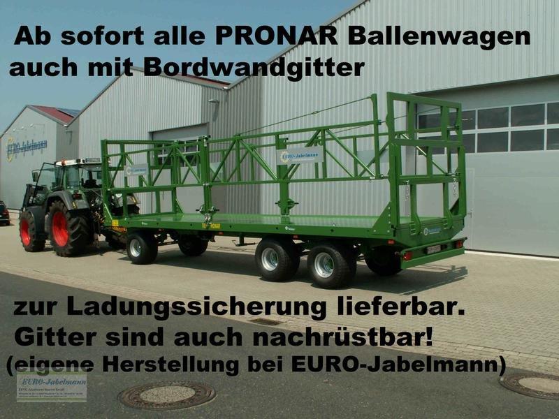 Ballentransportwagen tip PRONAR EURO-Jabelmann Ballenaufbau für Pronar Ballenwagen 3-achser, auch nachträglicher Aufbau möglich. NEU, Neumaschine in Itterbeck (Poză 1)