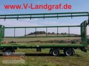 Ballentransportwagen of the type PRONAR T 028 KM, Neumaschine in Ostheim/Rhön