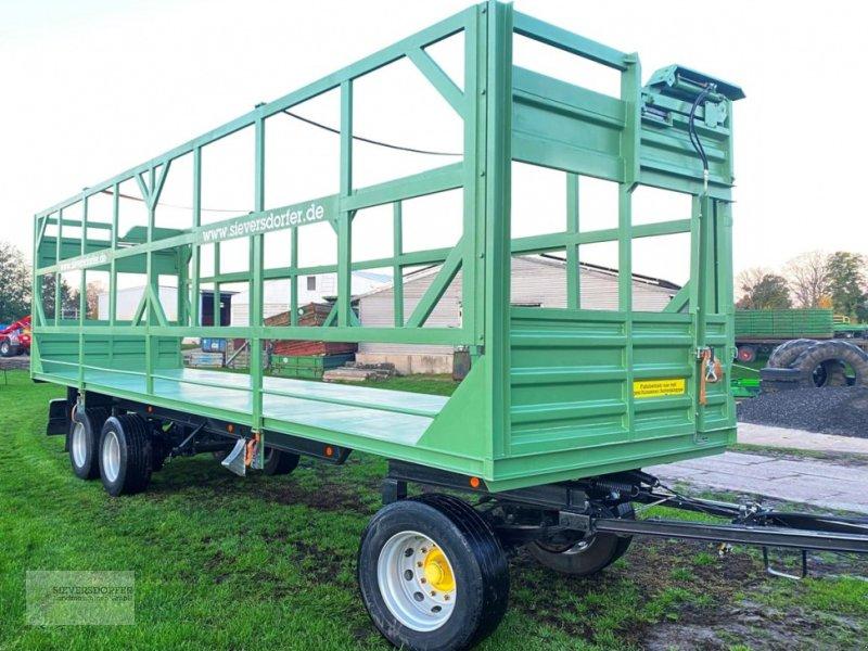 Ballentransportwagen des Typs Sonstige 3-Achs Platte, Gebrauchtmaschine in Sieversdorf (Bild 1)