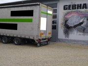 Krukenmeier Jumbo Anhänger 19 Tonnen Tandem LKW Anhänger Plane Spriegel Bálakocsi