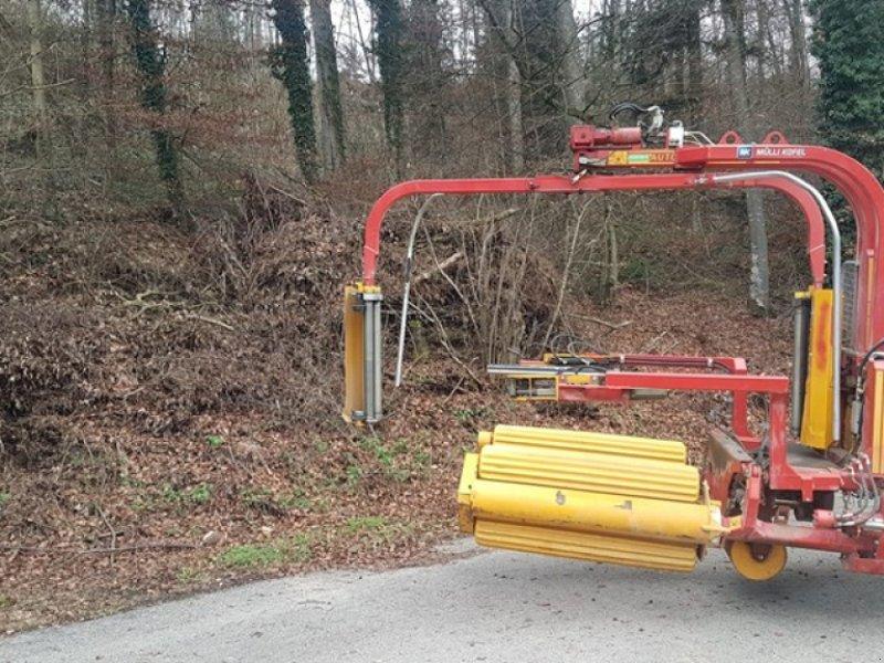 Ballenwickler tip Tellefsdal Autowrap 1514, Gebrauchtmaschine in Lengnau (Poză 1)