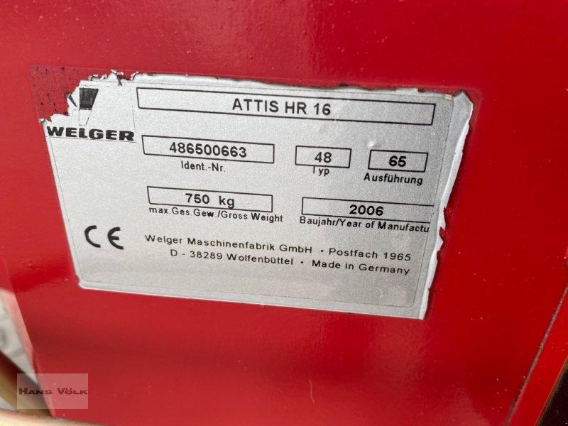 Ballenwickler des Typs Welger Attis HR 16, Gebrauchtmaschine in Eching (Bild 9)