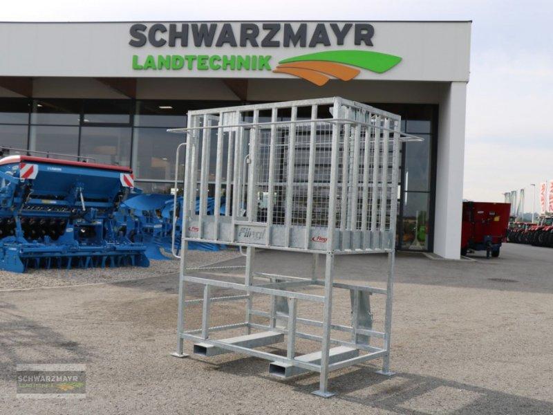 Ballenzange typu Fliegl Arbeitsbühne Maxi Euro, Neumaschine v Gampern (Obrázok 1)