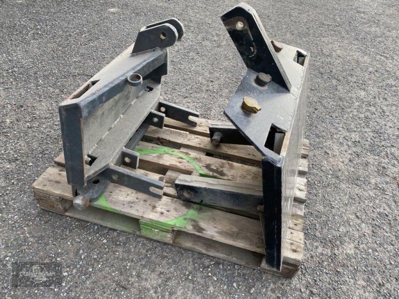Ballenzange typu Sonstige Anbauplatten Dreipunkt auf DIN Pflugplatte, Gebrauchtmaschine v Rankweil (Obrázok 2)