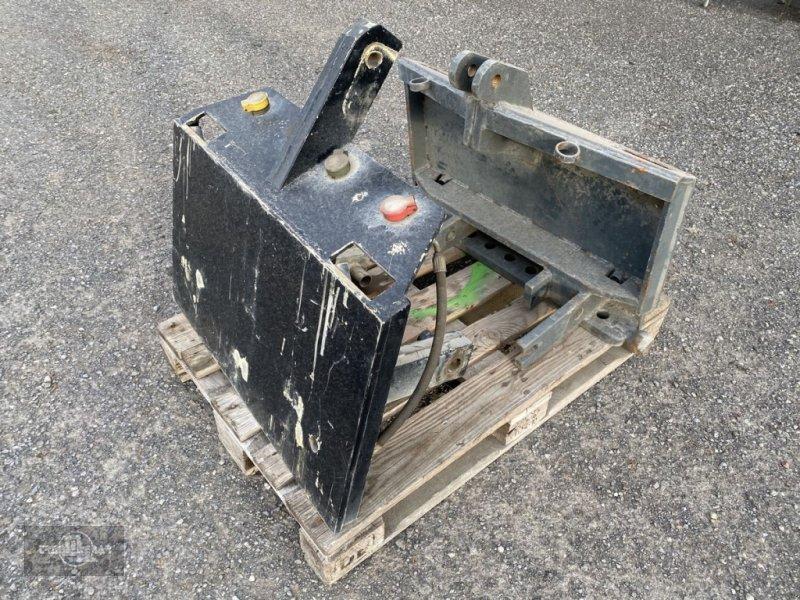 Ballenzange typu Sonstige Anbauplatten Dreipunkt auf DIN Pflugplatte, Gebrauchtmaschine v Rankweil (Obrázok 1)