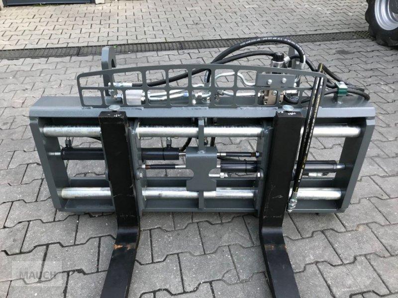 Ballenzange des Typs Sonstige Palettengabel mit hydraulischer Zinkenverstellun, Neumaschine in Burgkirchen (Bild 1)