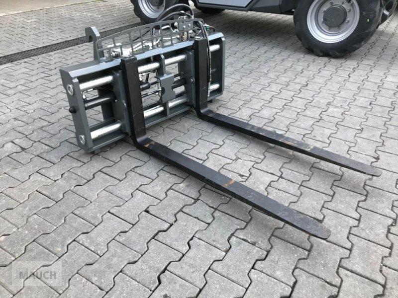 Ballenzange des Typs Sonstige Palettengabel mit hydraulischer Zinkenverstellun, Neumaschine in Burgkirchen (Bild 5)