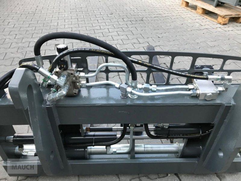 Ballenzange des Typs Sonstige Palettengabel mit hydraulischer Zinkenverstellun, Neumaschine in Burgkirchen (Bild 3)