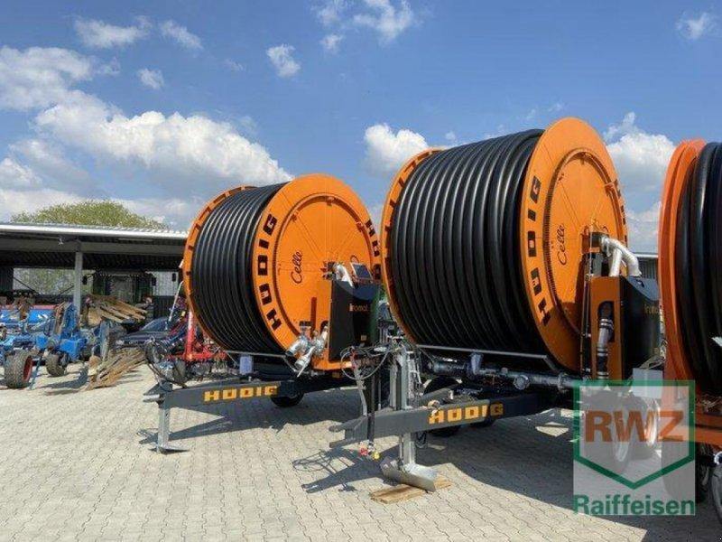 Beregnungsanlage des Typs Hüdig Iromat 1 TD 400-100, Ausstellungsmaschine in Mutterstadt (Bild 1)