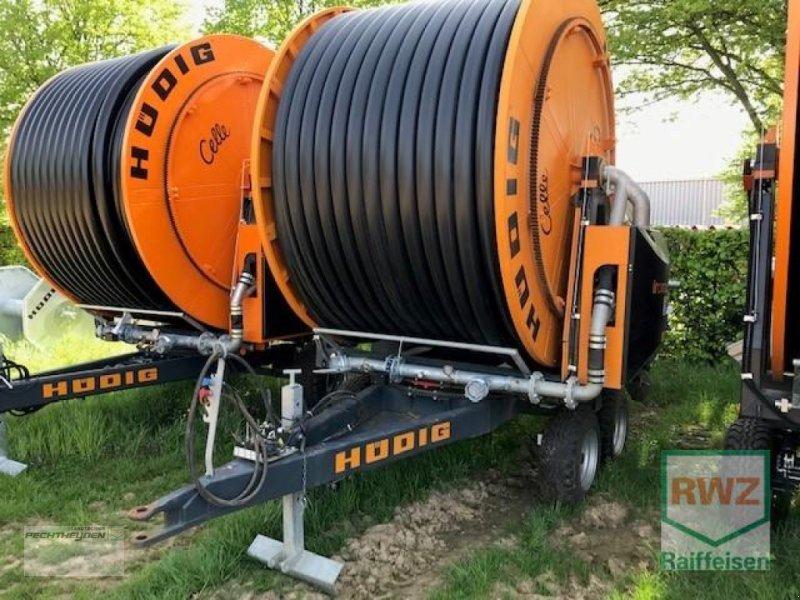 Beregnungsanlage des Typs Hüdig Iromat II-T Tandem, Vorführmaschine in Wegberg (Bild 1)