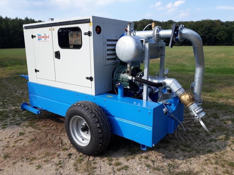 Beregnungspumpe des Typs Buchholz Dieselpumpaggregat III/N, Neumaschine in Itterbeck (Bild 1)