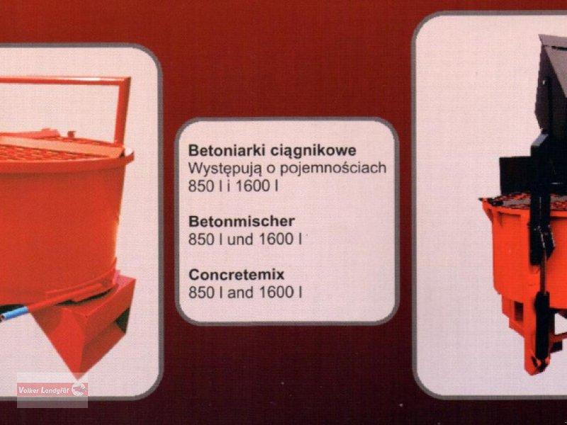 Betonmischer des Typs POM Schlepperbetonmischer, Neumaschine in Ostheim/Rhön (Bild 4)