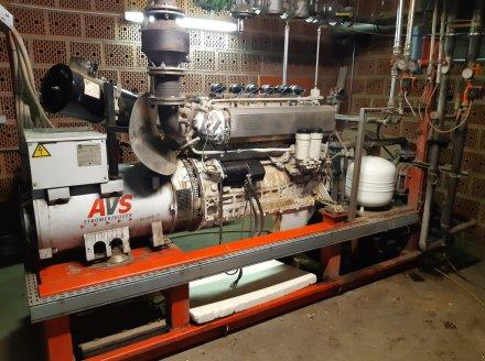 AVS Motor AVS 190 KW Motor Bloki elektrociepłownicze