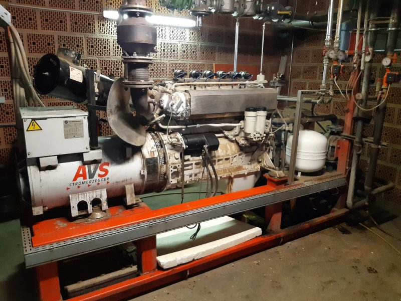 BHKW & Blockheizkraftwerk typu AVS Motor AVS 190 KW Motor, Gebrauchtmaschine w Markt Rettenbach (Zdjęcie 1)