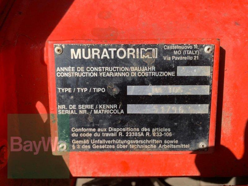 Bodenfräse des Typs Muratori MA 105, Gebrauchtmaschine in Fürth (Bild 3)