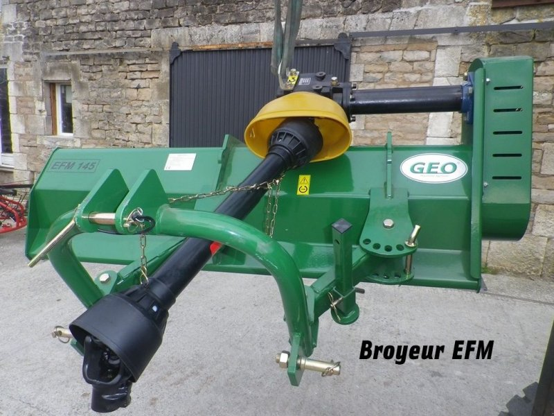 Böschungsmähgerät des Typs Geo BROYEUR D'ACCOTEMENT EFM 155, Gebrauchtmaschine in RETHEL (Bild 1)