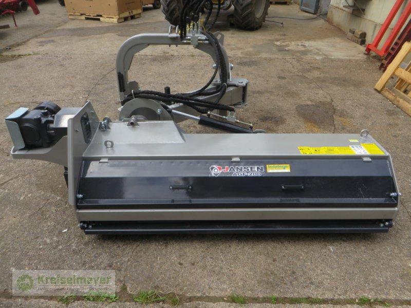 Böschungsmähgerät des Typs Jansen AGF-200 Ausliegemulcher 1,2 kg Hammerschlegel Mulcher (kostenloser Versand), Neumaschine in Feuchtwangen (Bild 1)