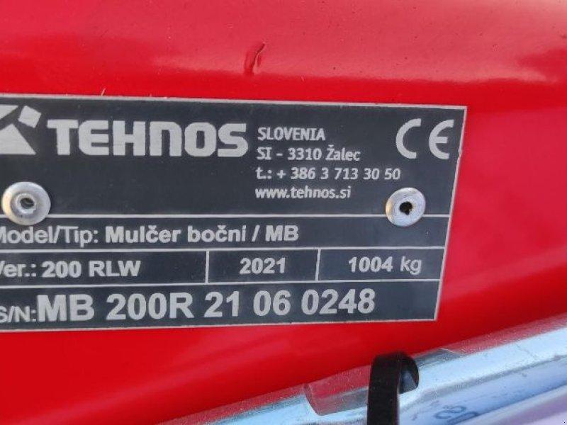 Böschungsmähgerät a típus Tehnos MB 200 lw, Gebrauchtmaschine ekkor: LESTREM (Kép 8)