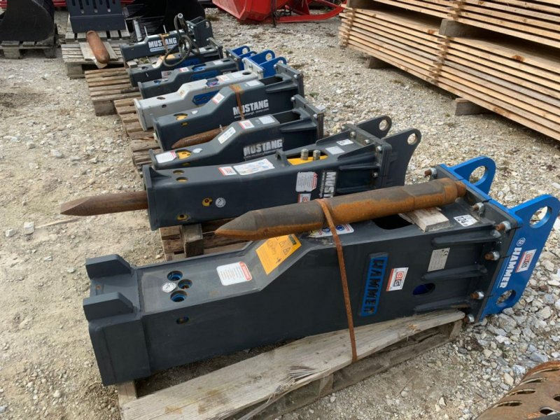 Bohrhammer типа Hammer Hydraulikhämmer von 70 - 3000 kg, Gebrauchtmaschine в Brunn an der Wild (Фотография 1)