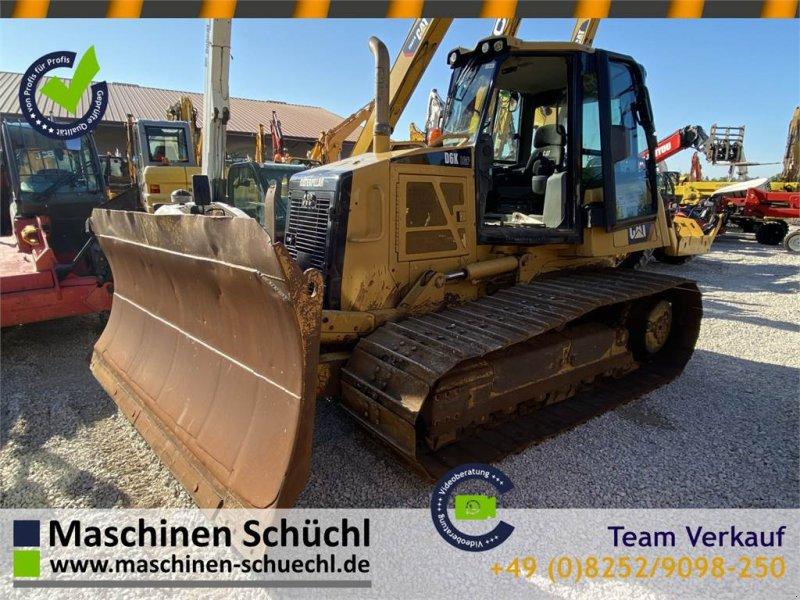 Bulldozer des Typs Caterpillar D6K Planierraupe mit 6-Wege Schild, Gebrauchtmaschine in Schrobenhausen (Bild 1)